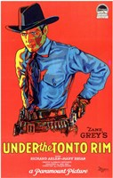 Under the Tonto Rim Wall Poster