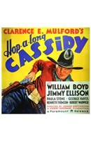 Hop-Along Cassidy William Boyd Wall Poster