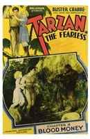 Tarzan the Fearless, c.1933 chapter 5 Fine-Art Print