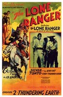 The Lone Ranger - Episode 2 Wall Poster