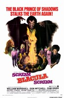 Scream Blacula Scream Wall Poster