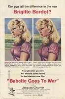 Babette Goes to War Wall Poster