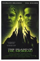 The Island of Dr Moreau Wall Poster