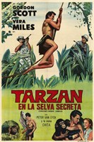 Tarzan's Hidden Jungle, c.1955 (Spanish) - style A Wall Poster