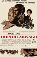 Doctor Zhivago Spanish Wall Poster