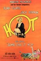 Some Like it Hot, c.1959 - style F Fine-Art Print