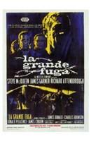 The Great Escape La Grande Fuga Wall Poster