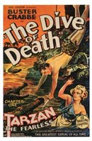 Tarzan the Fearless, c.1933 chapter 1 Wall Poster