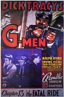 Dick Tracy's G-Men Wall Poster