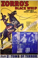 Zorro's Black Whip Chapter 2 Wall Poster