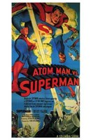 Atom Man Vs Superman Tall Wall Poster