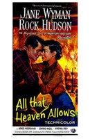 All That Heaven Allows Wall Poster