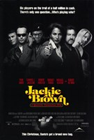 Jackie Brown 6 Players Wall Poster