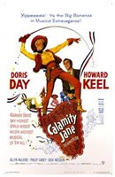 Calamity Jane Wall Poster