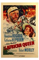 The African Queen Robert Morley Wall Poster