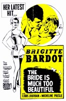 The Bride is Much Too Beautiful Wall Poster