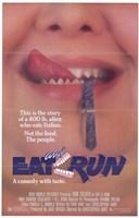 Eat and Run Wall Poster