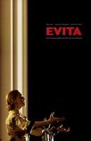 Evita Singing Wall Poster