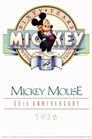 Mickey Mouse 60Th Anniversary Gallery Fine-Art Print