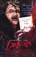Night of the Demons Wall Poster