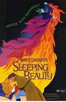 Sleeping Beauty Ablaze with Wonders Wall Poster