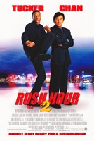 Rush Hour 2 Wall Poster