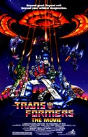 Transformers: The Movie - style A Fine-Art Print