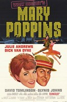 Mary Poppins Broadway Musical Wall Poster