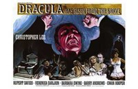 Dracula Has Risen from the Grave Christopher Lee Fine-Art Print