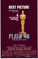 Platoon 4 Academy Awards Wall Poster