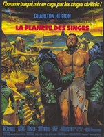 Planet of the Apes (french) Wall Poster