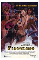Erotic Adventures of Pinocchio Wall Poster