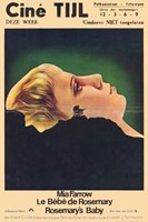 Rosemary's Baby French Wall Poster