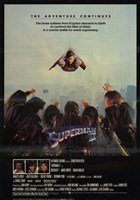 Superman 2 Cast Wall Poster