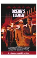 Ocean's Eleven - five people Fine-Art Print