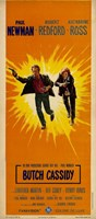 Butch Cassidy and the Sundance Kid Sunburst Wall Poster