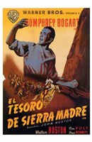 Treasure of the Sierra Madre - spanish Wall Poster