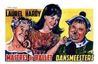 Dancing Masters Wall Poster