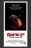 Friday the 13Th Part 4 --The Final Chapter Fine-Art Print