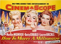 How to Marry a Millionaire, c.1953 - style B Fine-Art Print