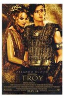 Troy Helen of Troy and Paris Wall Poster