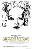 Marlene Dietrich - drawing Wall Poster