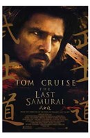 The Last Samurai Close Up Wall Poster