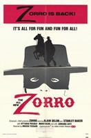 Zorro Wall Poster