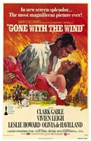 Gone with the Wind - In new screen splendor... Wall Poster