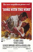 Gone with the Wind - Clark Gable Wall Poster