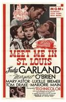 Meet Me in St Louis - red Fine-Art Print