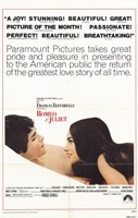 Romeo and Juliet Paramount Pictures Wall Poster