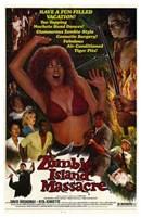 Zombie Island Massacre Wall Poster