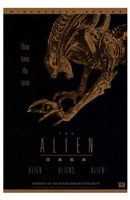 Alien Saga  the (Video Poster) Fine-Art Print